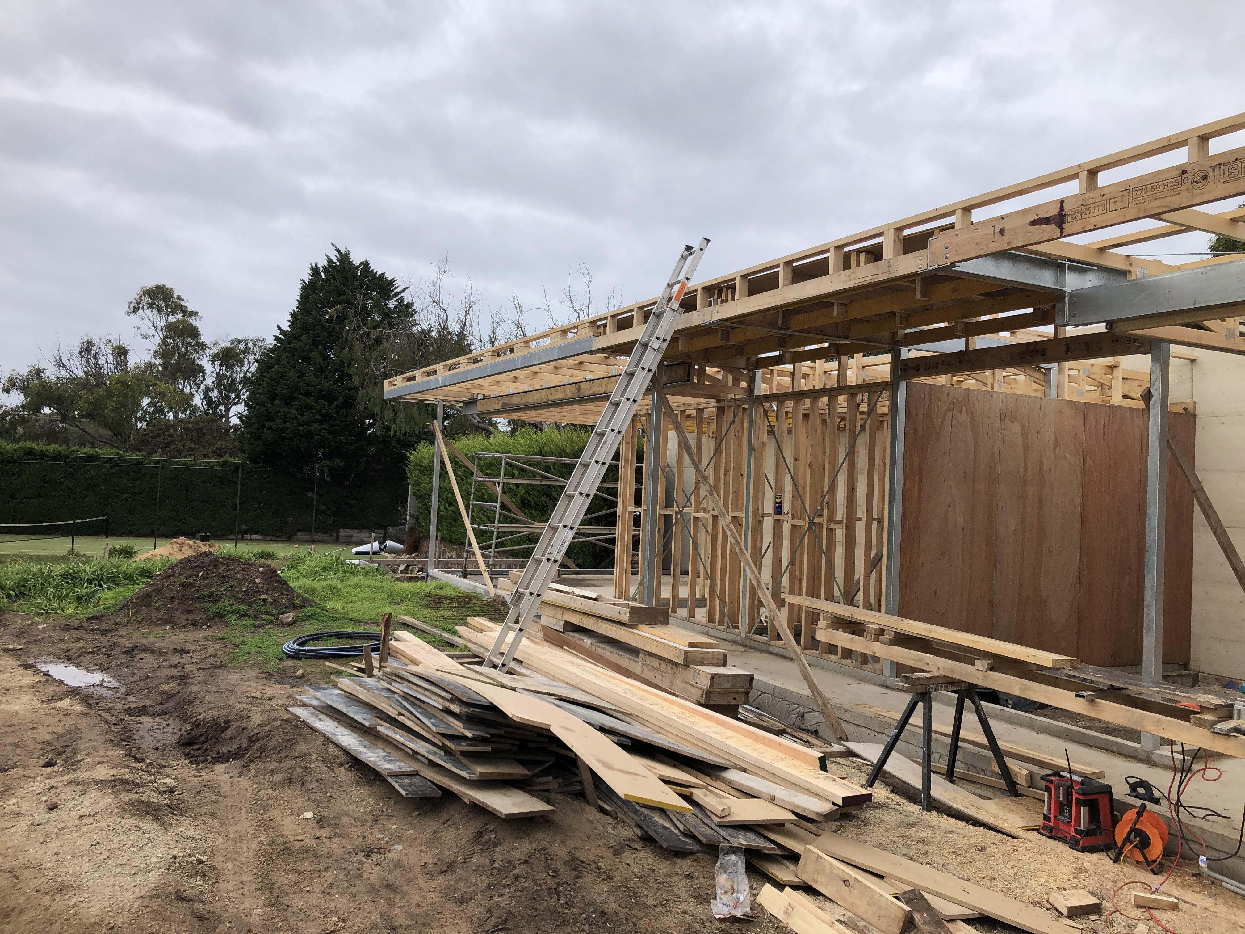 Under Construction – Portsea Project 1